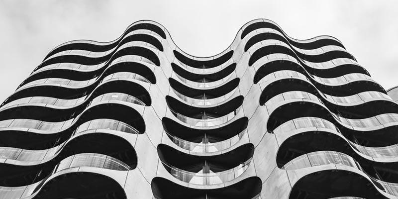 Immeuble des année 70 moderne idf